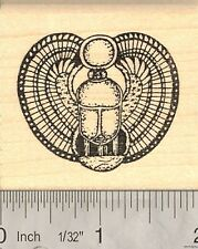 Egyptian Scarabaeus Rubber Stamp G1011 WM
