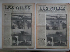 AILES 1935 723 SAVOIA S-74 SEVERSKY RADIO COMPAS HANDLEY-PAGE SOUFFLERIE MEAULTE