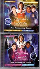 The SARAH JANE ADVENTURES 2CDs, Thirteenth Stone & Glittering Storm (Doctor Who)
