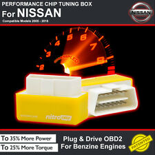POWER BOX CAR AUTO CHIP TUNING ECU REMAPPING REMAP PERFORMANCE UPGRADE F/ NISSAN
