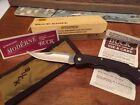 buck knife USA model 426 Burgundy no date Old box NIB