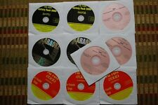 10 CDG DISCS OLDIES & COUNTRY KARAOKE -JIMMY BUFFETT, TOM JONES, B-52'S CD+G 30c