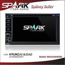 SP AFTERMARKET GPS DVD SAT NAV IPOD BT NAVIGATION FOR HYUNDAI iLOAD i-LOAD