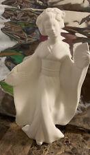 Ceramic Bisque Oriental Woman  U-Paint Ready to Paint