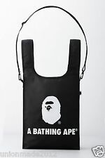 A BATHING APE 2016 Catalog Book Magazine + BAPE Ape Head Logo Shoulder Bag Black