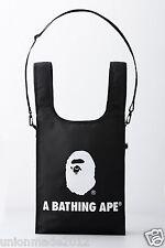 A BATHING APE 2016 Catalog Book Magazine + BAPE Ape Head Logo Shoulder Bag Black