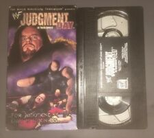 WWF - Judgment Day In Your House '98 (VHS, 1998) WWE WCW NWO RARE NON RENTAL