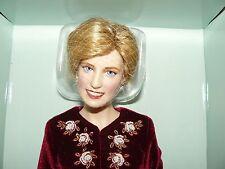 Franklin Mint Diana Princess Of Loveliness Porcelain Portrait Doll With COA