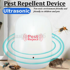 Ultrasonic Mosquito Killer Electric Insect Fly Bug Zapper Trap Lamp Pest Control