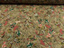 "tela de Vestido ""Japanese Paisaje"" Jersey 155cm ancho Mezcla Algodón C.motivos"