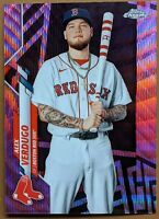 Alex Verdugo - Red Sox SP PINK WAVE REFRACTOR 🔥💎 2020 Topps Chrome Update MINT