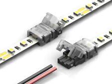 Schnell Verbinder Strip zu Strip / Streifen an Kabel 2 4 5 6 Pin 10mm 12mm breit