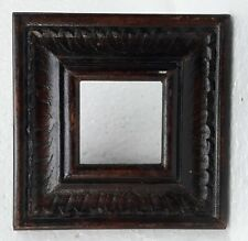 Wooden Photo Frame Vintage Design Old Hand Made Carved Collectible Home Art