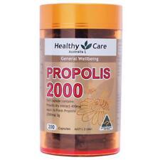 Healthy Care-Propolis 2000mg 200 Capsules US SELLER