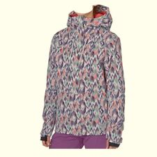 BILLABONG Women's AKIRA Printed Snow Jacket - IKT - Large - NWT
