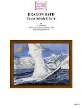 DRAGONS BATH - CROSS STITCH CHART