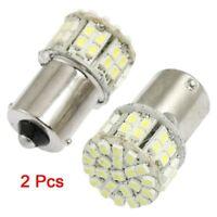 2 Pcs BA15S 1156 1141 Car Tail Brake Turn Light LED Bulbs 50-1210 SMD 12V Whi BT