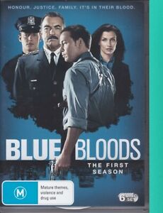 Blue Bloods : Season 1 : Brand New Sealed (AQ, DVD, 2011, 6 Disc Set, Region 4)