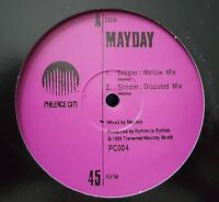 "MAYDAY / SINISTER 12"" RP PHEERCE CITI PURPLE WIGGIN FREESTYLE DERRICK MAY TECHNO"