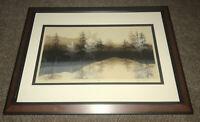 """Virgil Thrasher - """" Creek Side """" Hand Signed • Limited Numbered 25 Of 375 Framed"""