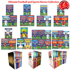 Ultimate Football and Sports Heroes Series Collection Books Set Childrens Pack
