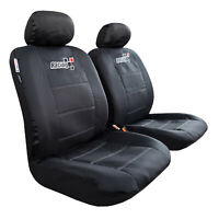 For Toyota Tacoma Seat Covers TRD 2003-2021 Waterproof Black Canvas Protectors