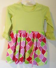 NIP Kelly's Kids Rhonda Trellis Ornaments Dress Girl's Sz 4-5