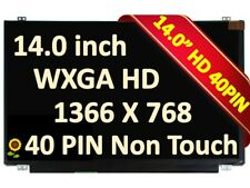 "New Display Screen Panel 14.0"" Led Lcd Hd Matte Ag For Ibm Lenovo Fru 18200787"