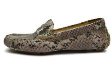 Cole Haan Women's Trillby Driver Ironstone Python Print Multicolor Loafer  6 B