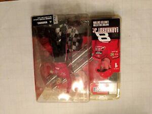 Vintage 2003 McFarlane Series 1 Dale Earnhardt Jr NASCAR Action Figure New