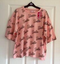 Ladies Women's Girls Barbie Logo Top T-Shirt Primark Size XL 18-20 Extra Large