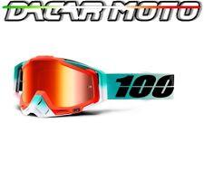 Panel Glasses 100% RACECRAFT Off Road Moto Cross Mirror Lens Mirror +