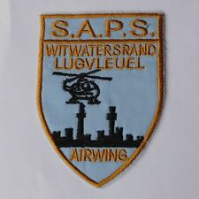 SAPS AFRICA Special Task Force Police Rhodesia Bush Border War HELICOPTER Badge