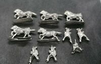 Games Workshop Warhammer Battalion 5 Warriors of Chaos Marauder Horsemen Metal