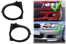 Feux Anti-brouillard Couvertures Couvre BMW E46 M3 M-Sport Tech Look Pare-chocs