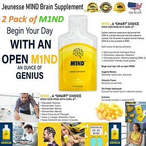 M1ND - Dietary Brain Supplement 2 Pack - 60 Pkts  Exp 5/2021 Free Priority USPS