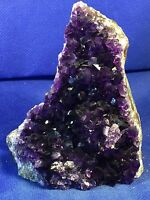 Amethyst Geode Quartz Extra Dark Cluster Cathedral Display Specimen from Uruguay