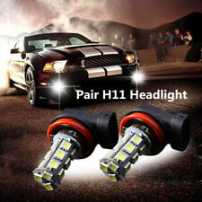2PC  H11 LED C White Fog Driving Head Light For Holden Commodore VT VX VY VZ VE