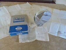 NOS 65 66 Ford Exterior Side Rear View MIRROR 1965 1966