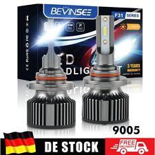 9005 HB3 LED Scheinwerfer Birne Fernlicht Für Peugeot 3008 SUV 5008 II 2016-2020