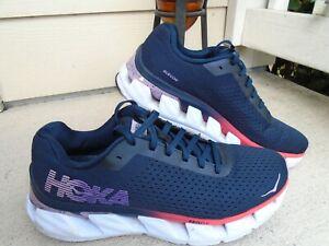 Hoka One One Elevon Running Athletic Shoes Blue Womens Size 10