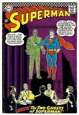Superman #186 (1966; vf- 7.5) price guide value in this grade: $63.00 (£41.50)
