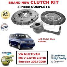 Para VW Multivan Mk V 2.5TDi 4motion 2003-2009 Nuevo 3PC Kit de Embrague con Csc