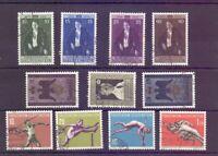Liechtenstein Jahrgang 1956 - MiNr. 342/352 gestempelt - Michel 54,00 € (847)