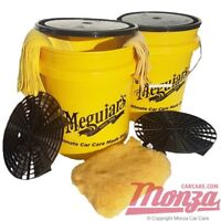 NEW!! Meguiars Professional Car Wash **TWIN BUCKET KIT** Swirl Free Paintwork