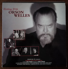 LASERDISC Movie / Documentary: WORKING WITH ORSON WELLES  - Collectible