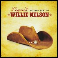 WILLIE NELSON - LEGEND : THE VERY BEST OF CD ~ GREATEST HITS (HIGHWAYMEN) *NEW*
