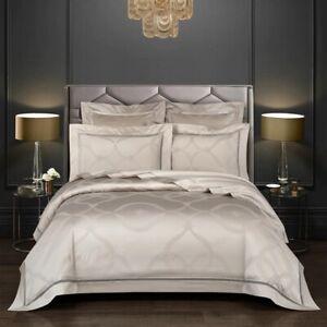 Royal Luxury Egyptian Cotton Jacquard Duvet Cover Bedding Sets Premium Fast Ship