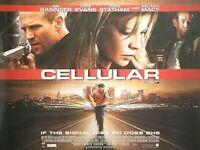Cellular (Zweiseitig) Original Filmposter