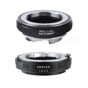 Adapter M42-NZ for M42 Screw mount lens to Nikon Z Mount Z6 Z7 Camera
